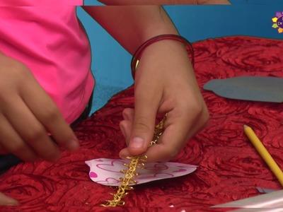 Marcalibros en Forma de Bolsitas de Té - Manualidades para Niños
