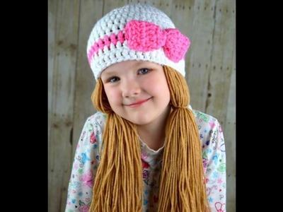 Ternuras en gorros tejidos a crochet