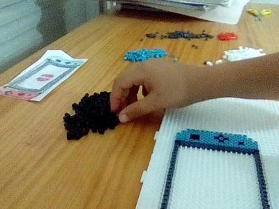 Tutorial de como hacer una nintendo switch con hama beads