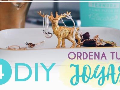 ※ 4 DIY: Organiza tus joyas • Decoración TUMBLR | Inés Alcolea