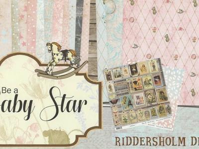 Be a Baby Star: colección de scrapbooking para bebé
