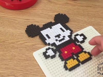 Cómo hacer un Mickey con Pyssla