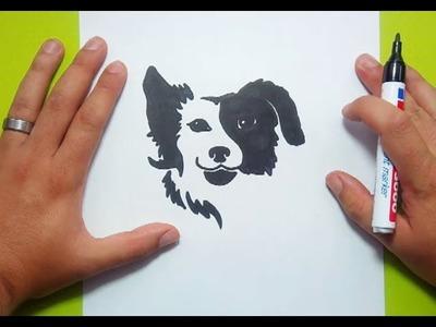 Como dibujar un perro paso a paso 39 | How to draw a dog 39