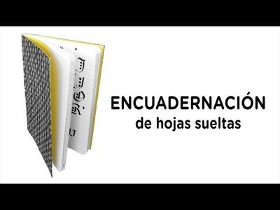 Cómo hacer una ENCUADERNACIÓN de HOJAS SUELTAS (DIY) | MelganniaTV