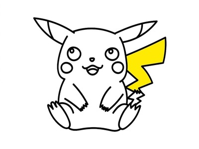 Dibuja y Colorea Pikachu de Pokemon - Dibujos Para Niños - Learn Colors. Art for kids