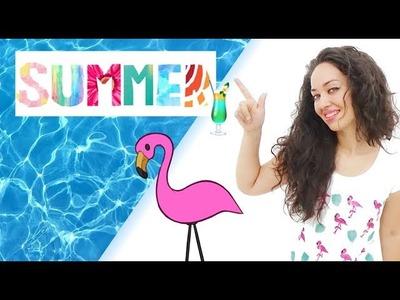 DIY - 3 Ideas Flamencos Summer????