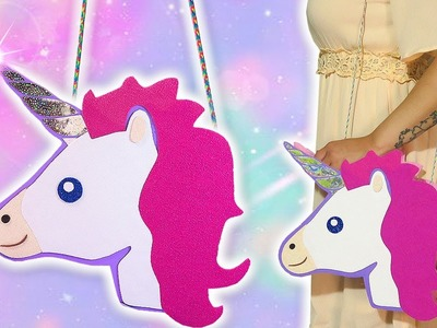 ♥ DIY: Bolso de Unicornio || Kawaii Unicorn Bag ♥