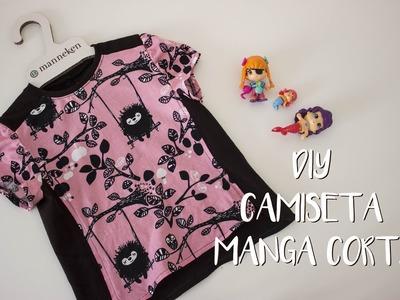 DIY - Camiseta manga corta Niña