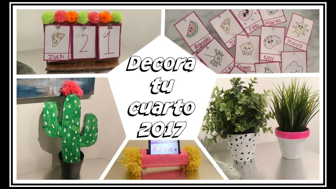 ♥ DIY DECORA TU CUARTO MUY BONITO Y FACIL 2017.Belita ♥