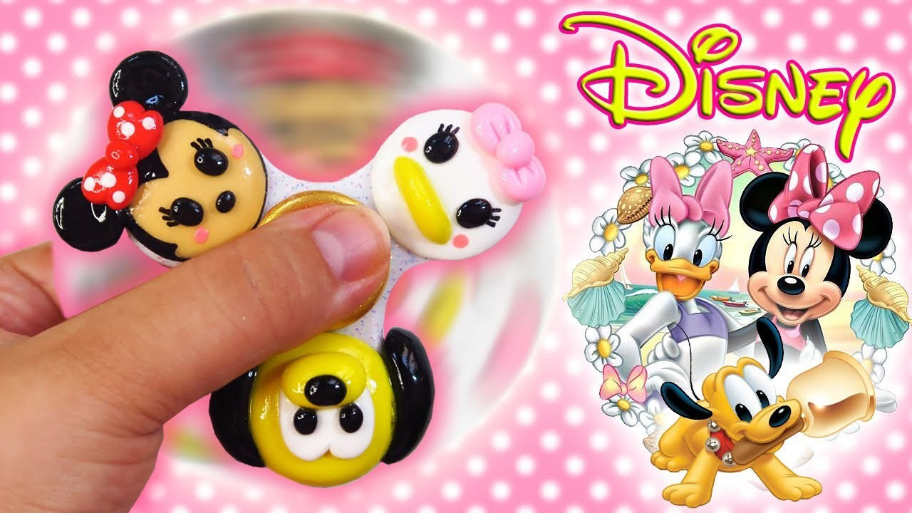 ♥ DIY: Fidget Spinner de Disney (Minnie, Daisy y Pluto) ♥