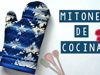 DIY - MITONES DE COCINA (PATRON GRATIS) | Danii's Ways ♡