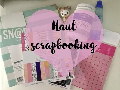 Haul scrapbooking.Compritas de material de scrap. kimidori y El craftelier