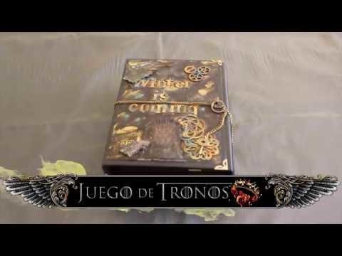 Juego de Tronos   Album Scrapbooking