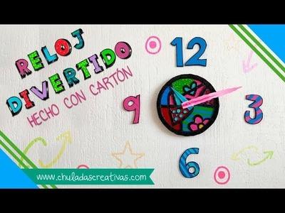 Reloj Fácil y Divertido ⏰ Chuladas Creativas Clock DIY Romero Brito