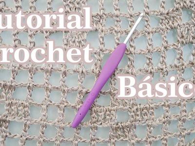 Aprende a Tejer Crochet - #01 Básicos