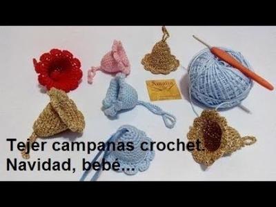 Campanas crochet