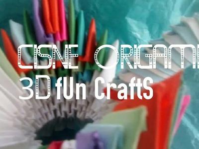 Cisne origami 3D|FUn crAftS