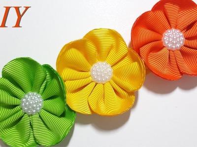Como Hacer Lazos ???? DIY #150 Bandita Floral Tutorial