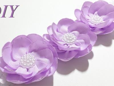 Como Hacer Lazos ???? DIY #154 Bandita Floral Tutorial