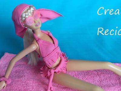 Cómo hacer un bikini para muñecas