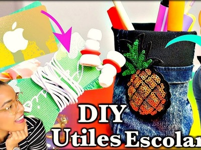 DECORA tus UTILES ESCOLARES | DIY SCHOOL SUPPLIES | Simplemente Leidy