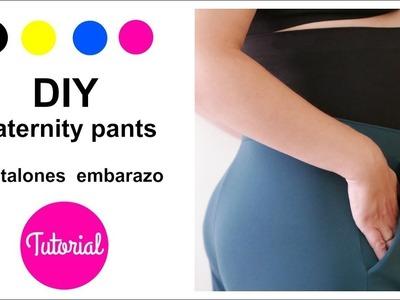DIY Convierte un pantalón normal en pantalón de embarazo
