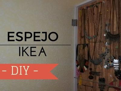 DIY espejo de IKEA | Espejo para accesorios | Decoración IKEA