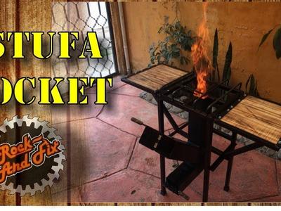 DIY| Estufa Rocket.Rocket Stove Paso a Paso