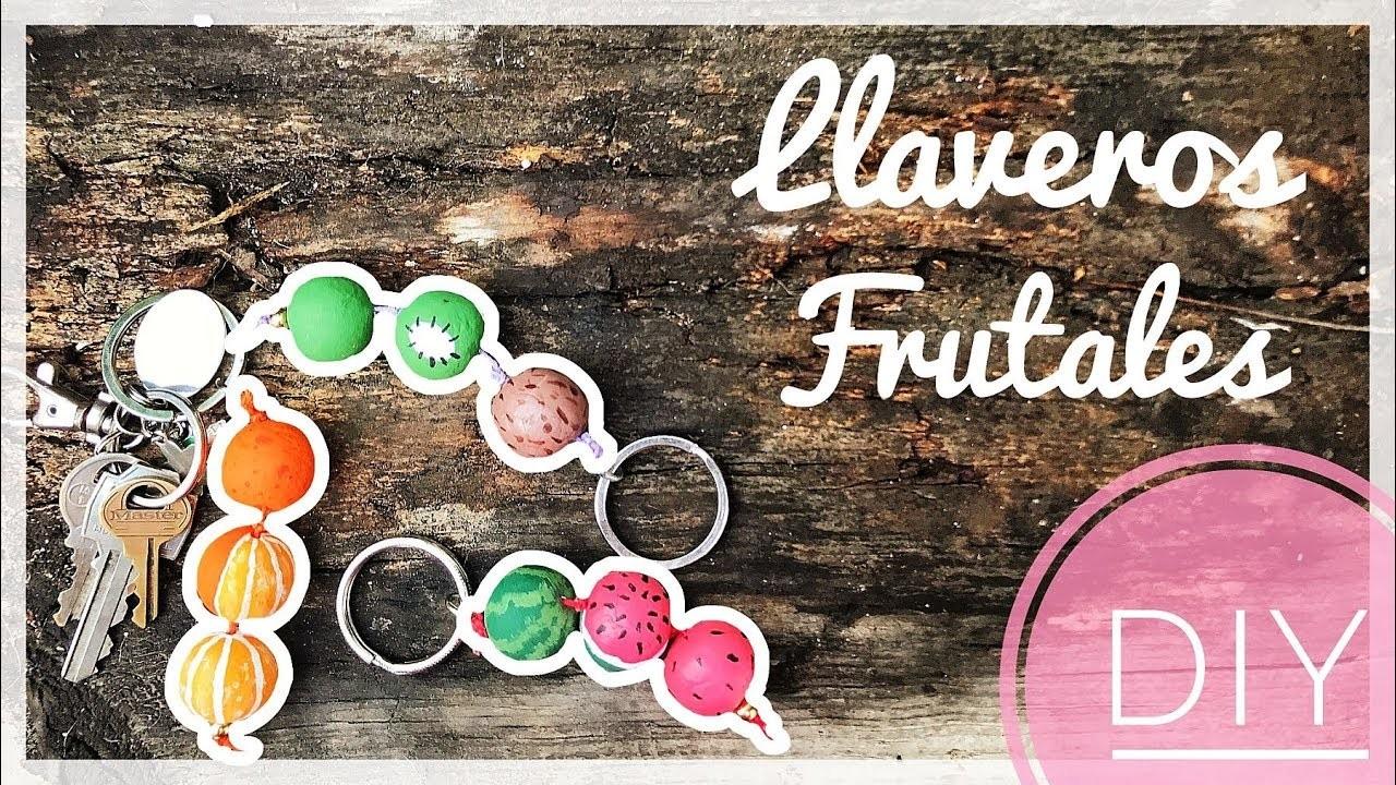 DIY Llavero Frutales para tus llaves o mochila   Orange Craft