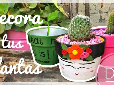 DIY Macetas Originales para Decorar | Orange Craft