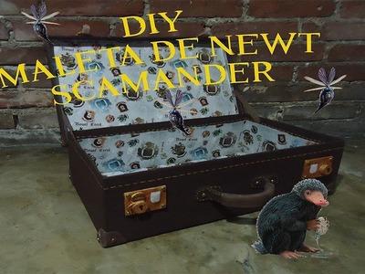 DIY Maleta de Newt Scamander