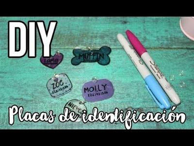 DIY | Placas de identificación RECICLADAS | MASCOTAS