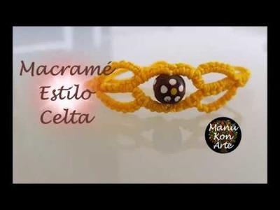 DIY Tutorial Pulsera Macrame estilo Celta