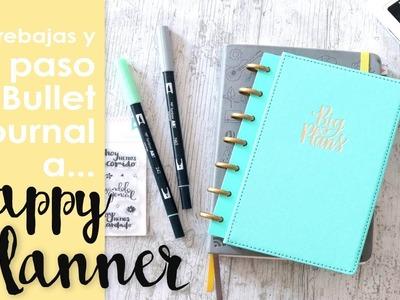 Haul compritas y Happy Planner, mi sustituto del Bullet Journal