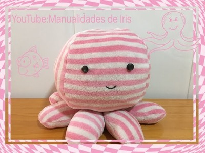 How to Pulpo ???? de tela tutoríal fácil DIY
