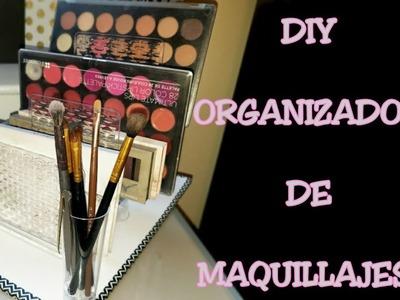 ORGANIZADOR DE MAQUILLAJES|| DIY| Haslo tu misma.