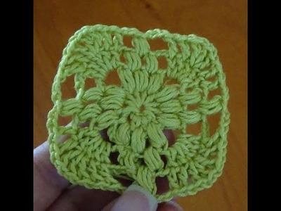 Paso a paso parte 1 cuadrito estola a crochet, ganchillo fácil