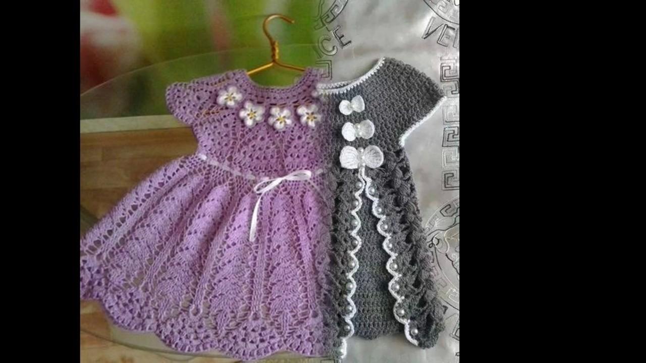 Vestidos Tejidos A Crochet Para Niña
