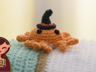 Amigurumi | como hacer un gorro para halloween en crochet | Bibi Crochet