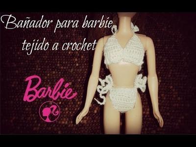 Bañador para barbie a crochet TUTORIAL PASO A PASO by Alexandra Sacasa