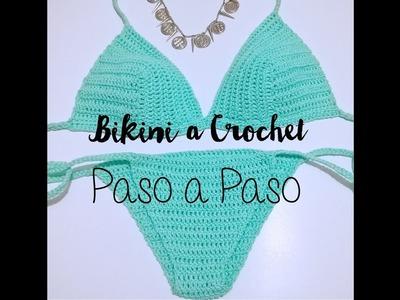 Bikini a Crochet Paso a Paso Facil