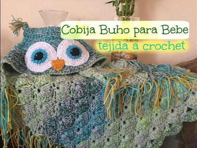 Cobijita Bebe Tejida a Crochet