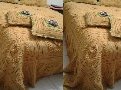 Colchas Modernas Tejidos a Crochet