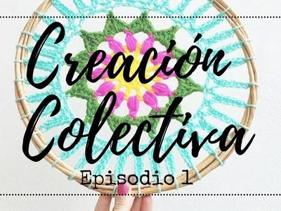#CREACIONCOLECTIVA en el Día Internacional Del Crochet con mamaQuilla - Inventamos Un Mandala!