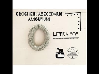 """CROCHET: Abecedario Amigurumi Letra """"O"""""""