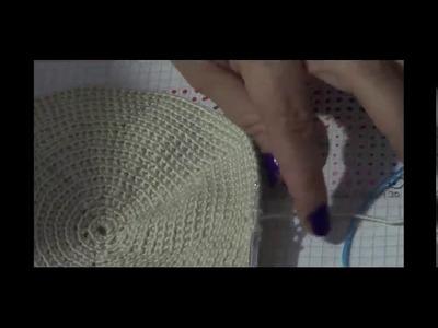 Dibujos en Mochilas de Crochet  Combinar colores