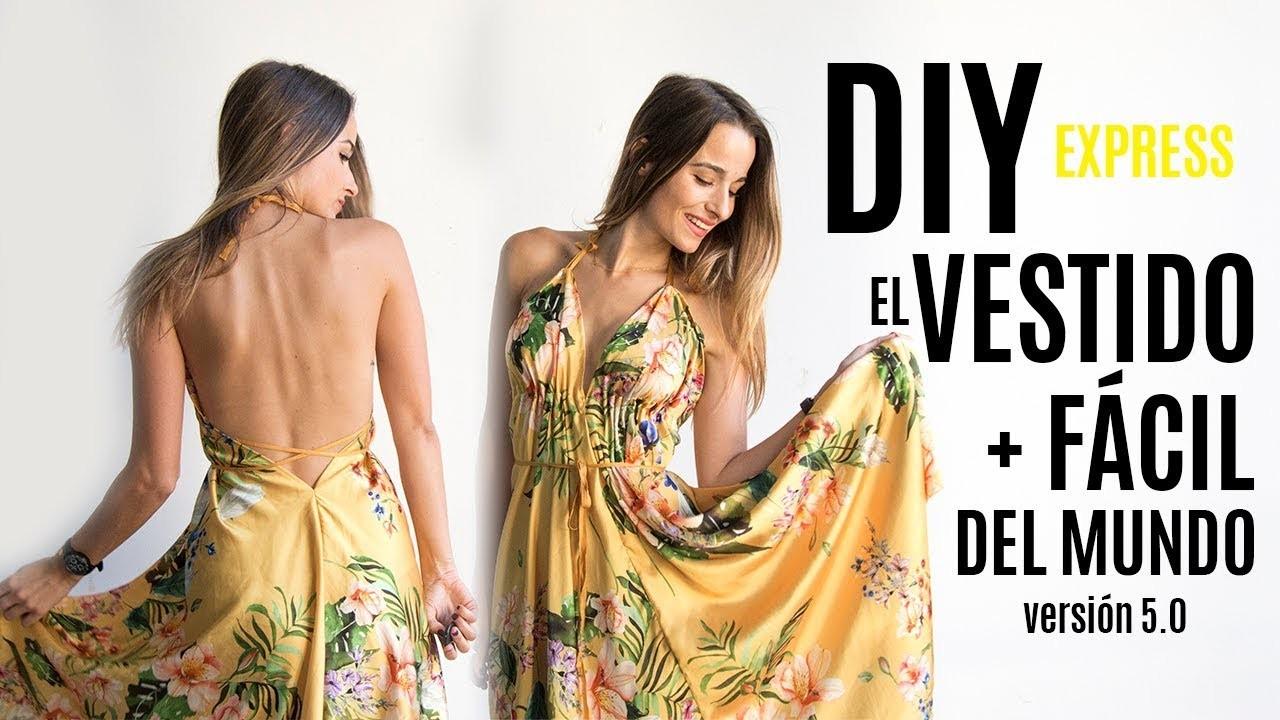 DIY el vestido mas facil del mundo 5.0