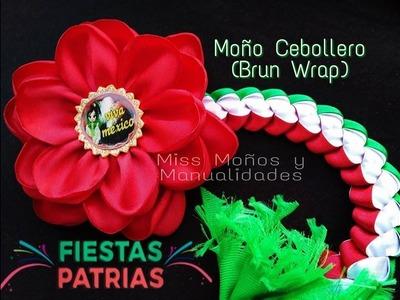 DIY Moño Cebollero (Brun Wrap)
