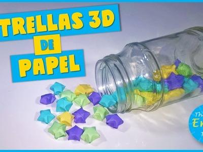 ESTRELLAS 3D DE PAPEL | DIY
