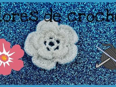 ????flores de crochet ????.????crochet flowers????